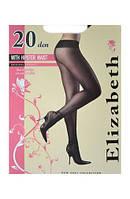 Elizabeth Колготки 20 den WITH HIPSTER WAIST низкая талия 002EL размер-2 черный