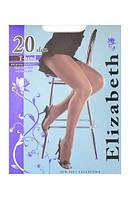 Elizabeth Колготки 20 den без шорт с ластовицей 003EL-размер-5 черный
