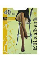 Elizabeth Колготки 40 den шортиками 007EL размер-2 черный