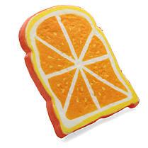SquishyShop Orange Bread Toast Slice Squishy 14cm Soft Медленная роспись Коллекция подарков Декор Игрушка, фото 2
