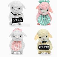 45см Animal Plush Фаршированная Альпака Хаус-Хаус Soft Животное Кукла Игрушка Рождественские подарки Большой размер