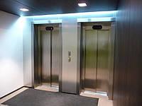 Лифтовой проем после облицовки