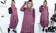 Тренд этого сезона – многослойное платье-oversize