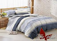 Комплект постельного белья сатин евро TM Tag 057