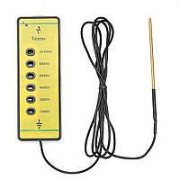 Электрический тестер для электрооборудования для фермы Fencing Poly Провод Лента Веревка Energiser Инструмент