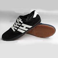 Мужские кроссовки Young Zone чёрные black 41-46