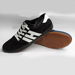 Мужские кроссовки Young Zone чёрные black 44
