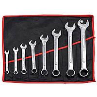 8 штук 45 # Стальной комбинационный гаечный ключ 8-24 мм Гараж DIY Ручная работа Инструмент