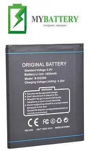Оригинальный аккумулятор АКБ батарея Doogee B-DG280 для Leo DG280