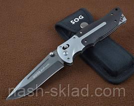 Нож  складной SOG, классического стиля и надежного качества, фото 2