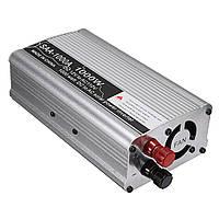 Солнечная Инвертор мощности 1000 Вт 12 В постоянного тока Преобразователь переменного тока с переменным током 110 В переменного тока