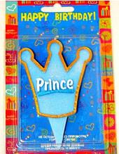 Свеча Принц Корона 6х6.5 см