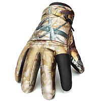 Мужчины Женское Теплая тактическая стрельба Водонепроницаемы Windproof Перчатки Full Finger На открытом воздухе Лыжная охота Перчатки