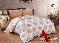 Комплект постельного белья сатин евро TM Tag 067
