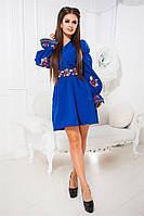 """Оригинальное платье """"Dolores"""" с термо фотопечатью на поясе и рукавах (4 цвета)"""