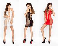 Эротическое платье-сетка №027