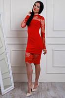 Нарядное женское платье, размеры 42, 44, 46, 48