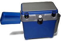 Ящик для зимней рыбалки с термометром A-elita, очень теплый верх, большая вместительность