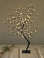 Новогоднее дерево гирлянда, высота 86 см (128 лампочек)