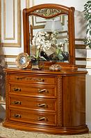 Туалетный столик с зеркалом - комод (1200*500*820) орех
