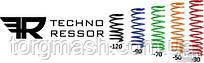Пружина передней подвески ВАЗ 2108-2110 ТЕХНО-РЕССОР занижение -30 технорессор