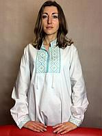 Мужская рубашка/вышиванка стилизованная белая
