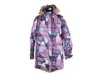 Пальто зимове жіноче р.M фіолетове ТМКИТАЙ