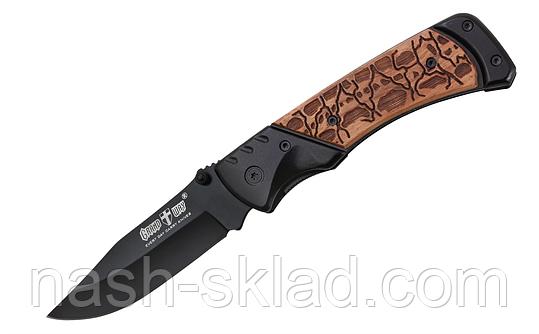 Нож складной, изготовленый с отличной стали 440А, фото 2