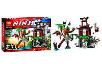 КОНСТРУКТОР  NINJA  (АНАЛОГ LEGO NINJAGO 70604) ТИГРОВЫЙ ОСТРОВ ВДОВ