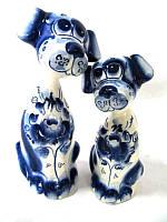 Пара влюбленных собак
