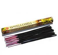 Vanilla Cinnamon (Ваниль с корицей) (Hem) шестигранник, аромапалочки