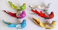 """Набор декоративных птиц """"Голуби"""" 18 см(12 шт)"""