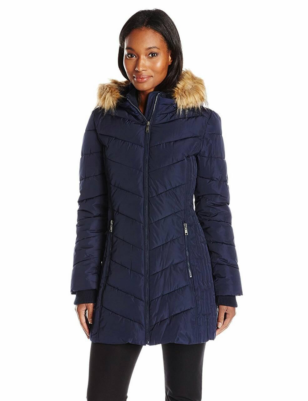 4777b2ddd29 Женская Зимняя Куртка Тommy Hilfiger с Капюшоном в Размере S ...
