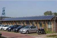 Солнечная станция для автостоянки 0,4кВт 12-220Вольт