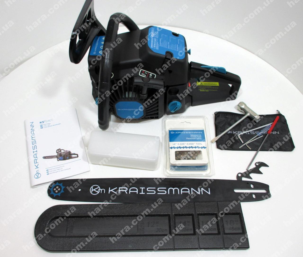 Бензопила Kraissmann KS 58 СС