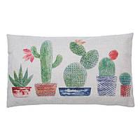 "Декоративная наволочка на подушку с милыми кактусами ""Cactus"""