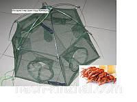 Раколовка на 6 входов диаметр 100см, ловушка для раков