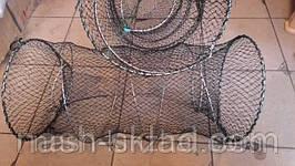Ятерь (Вентерь) для ловли раков, рыбы 80х110см, фото 3
