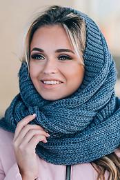 Снуды, шарфы, хомуты
