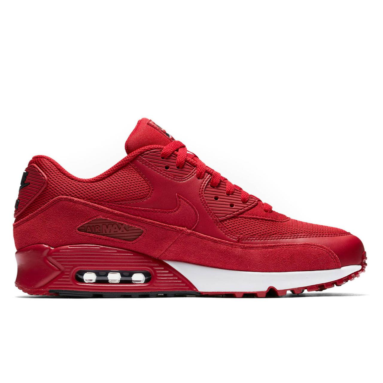 e5ce4e7c Оригинальные кроссовки Nike Air Max 90 Essential Gym Red , цена 3 460 грн.,  купить в Ивано-Франковске — Prom.ua (ID#621893475)