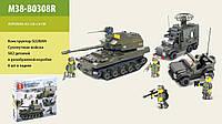 """Конструктор SLUBAN M38-B0308R (12шт) """"Сухопутные войска """" , в разобр.кор.43*29*6,5 см"""