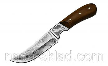 Нож охотничий с деревянной рукояткой, фото 2
