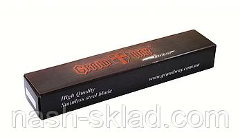 Нож охотничий с деревянной рукояткой, фото 3