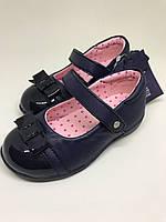 Кожаные туфли-балетки для девочки Kangol Sophia Infant Ballet Shoes, размер 24