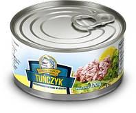 Тунец салатный в собственном соку Admiral Franco 170г.