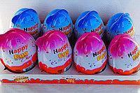 Яйцо шоколадное с игрушкой Toy Egg 8шт 20 г Турция