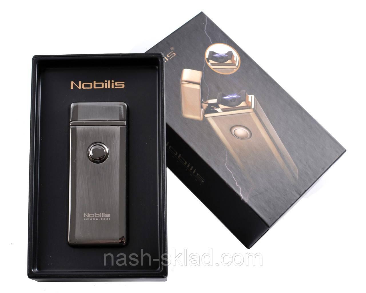 """Электроимпульсная USB зажигалкав подарочной упаковке """"Nobilis"""""""