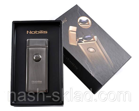 """Электроимпульсная USB зажигалкав подарочной упаковке """"Nobilis"""", фото 2"""