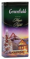 Чай Гринфилд Меджик Найт (Magic Night) чёрный ароматизированный 120г жестяная банка