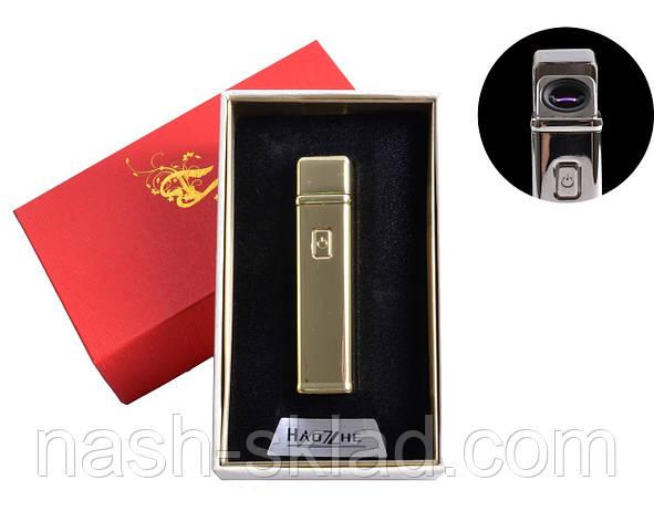 Электроимпульсная USB зажигалка в подарочной упаковке, фото 2